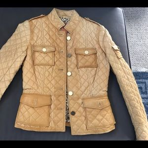 Tory Burch Leather Jacket Size 0
